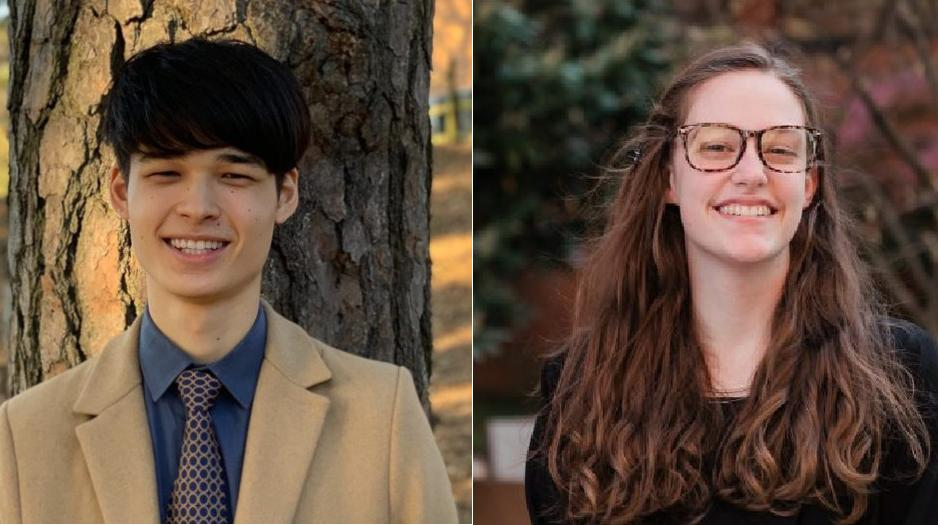 Gerson Kroiz and Kaitlynn Lilly are Goldwater Scholars!
